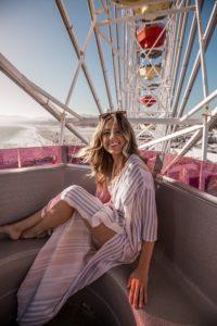 woman on ferris wheel - what is masculinity