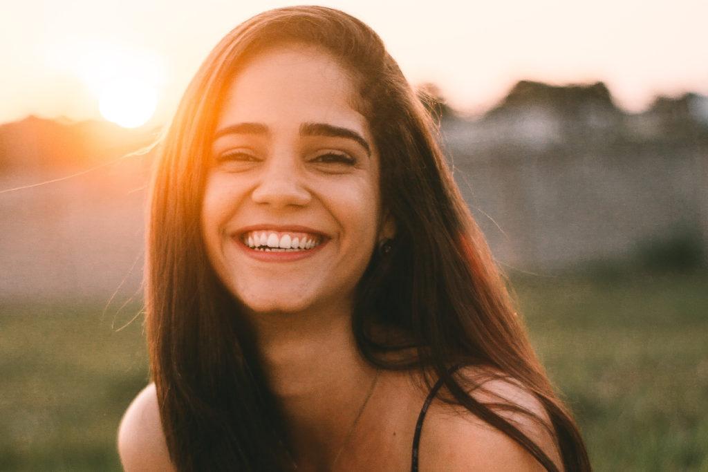 Woman Smiling - Do Women Like Shy Men