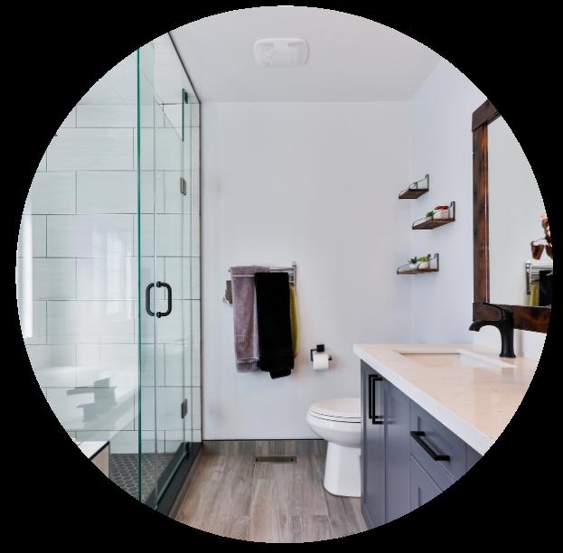 Bathroom Circle Introverted Alpha