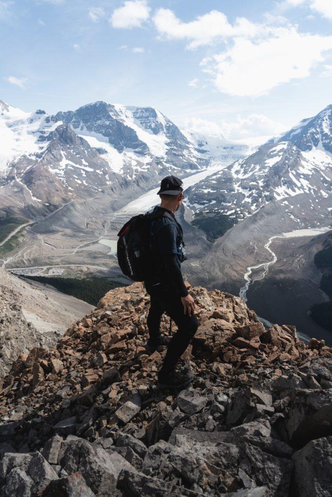 Man Hiking on Mountain - IA Academy