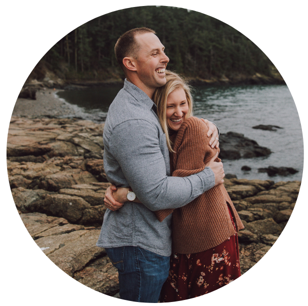 Man and Woman Couple Circle - Level Up Coaching